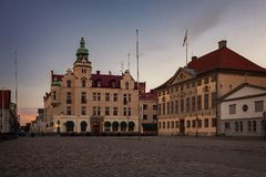 Kalmar-Stadtmitte Stockfoto