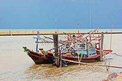 Kalmarfischen Lizenzfreie Stockbilder