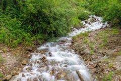 Kalmbachkreek, een schatplichtige van Passer rivier Royalty-vrije Stock Foto's