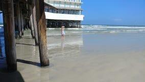 Kalme dag bij het strand stock foto