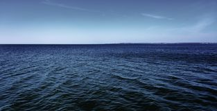 Kalme overzees, dag, openlucht stock foto's