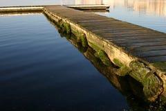 Kalme Pier Stock Foto's