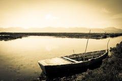Kalme rivierscène Royalty-vrije Stock Fotografie