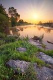 Kalmius river Royalty Free Stock Image