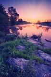 Kalmius river_vintage Stock Photo