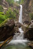 Kalmtaler of Passeirer-waterval Stock Foto's
