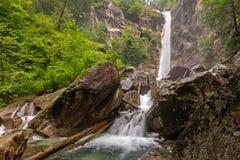 Kalmtaler of Passeirer-waterval Stock Afbeeldingen