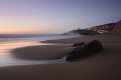 kalmte op het strand Royalty-vrije Stock Foto