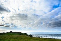 Kalo Castle island, Denmark - panorama Stock Photo