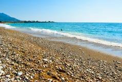 Kalo Nero plaża zdjęcie stock