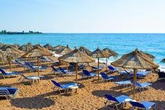 Kalo Nero plaża obraz royalty free