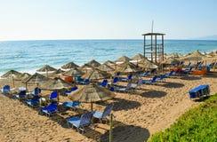 Kalo Nero plaża fotografia stock