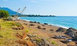 Kalo Nero plaża obrazy stock