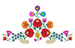 Kalocsa Embroidery. Beautiful traditional embroidery, from Hungary from Kalocsa stock illustration