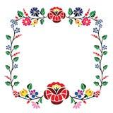 Kalocsai pattern Royalty Free Stock Photo