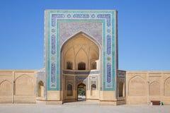 Kalon Mosque in Bukhara Buxoro, Uzbekistan Stock Images