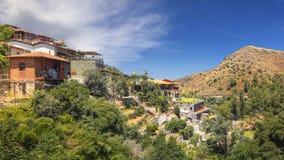 Kalopanagiotis-Dorf zypern stockbilder
