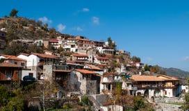 Kalopanayiotis Cypr wioska Obraz Royalty Free