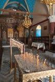Kalopetra monaster, wyspa Rhodes, Rodos, Grecja zdjęcie royalty free