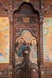 Kalopetra monaster, wyspa Rhodes, Rodos, Grecja Ikonowy obraz obrazy royalty free