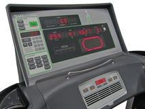kalorier kontrollerar digital vikt för idrottshallförlustpanelen Royaltyfria Bilder