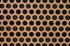 Kaloryferowy grill Okrąża tło obrazy stock