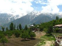 Kalpa Town, Himachal Pradesh, la India Foto de archivo