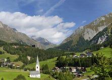 Kals est Grossglockner en Austria, Europa Foto de archivo libre de regalías