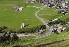 Kals am Grossglockner in Oostenrijk, Europa royalty-vrije stock afbeeldingen