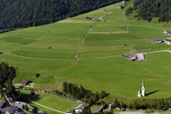 Kals am Grossglockner in Oostenrijk, Europa stock afbeelding