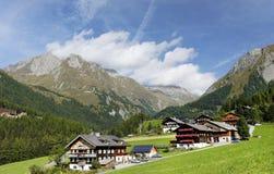 Kals am Grossglockner in Oostenrijk, Europa royalty-vrije stock foto's