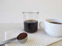 Kalt-gebrauter Kaffee stockfoto