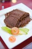 Kalt-schneiden Sie Rindfleisch-Aperitif Lizenzfreie Stockfotos