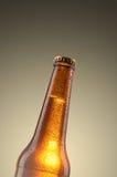 Kalte Bierflasche Lizenzfreies Stockfoto