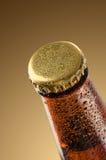 Kalte Bierflasche Lizenzfreie Stockfotografie