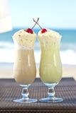 Kalte Cocktails für zwei Stockbilder