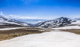 Kalte Landschaft Stockfoto