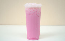 Kalte Milch Lizenzfreie Stockfotos