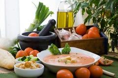 Kalte Suppe Lizenzfreies Stockbild