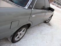 Kalte Winter Toyota-Kennzeichens II Stockbild