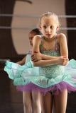 Kalter Ballett-Kursteilnehmer lizenzfreies stockbild