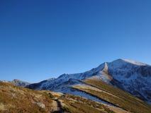 Kalter Berg Stockfotos