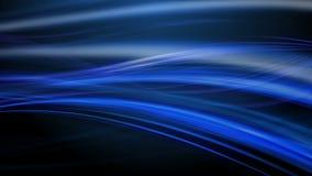 Kalter blauer abstrakter Hintergrund, nahtlose Schleife, HD1080p stock abbildung