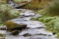 Kalter Fluss Lizenzfreie Stockfotos