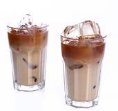 Kalter Kaffee stockfotos