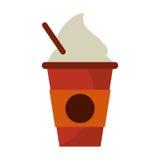 kalter Kaffeetasse Portable Lizenzfreies Stockbild