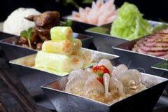Kalter Teller des chinesischen Lebensmittels Lizenzfreies Stockbild