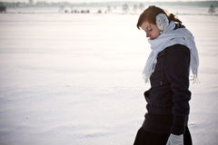 Kalter Winter Stockbild