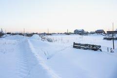 Kalter Wintertag Lizenzfreie Stockbilder