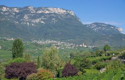 Kaltern,south Tyrolean Wine Route,Italy Royalty Free Stock Photos